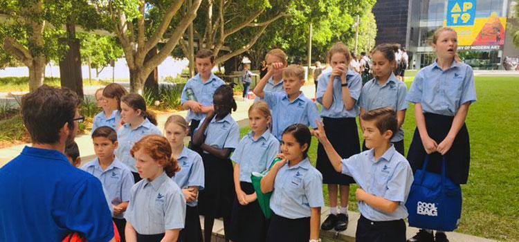Primary Students Good Shepherd Christian School